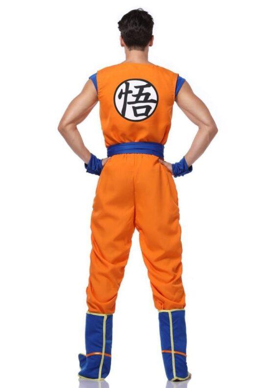 Dragon Ball Z Son Goku's Training Suit Set Cosplay Costume
