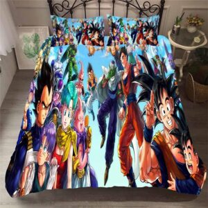Dragon Ball Z Protagonist & Antagonist Assembly Bedding Set