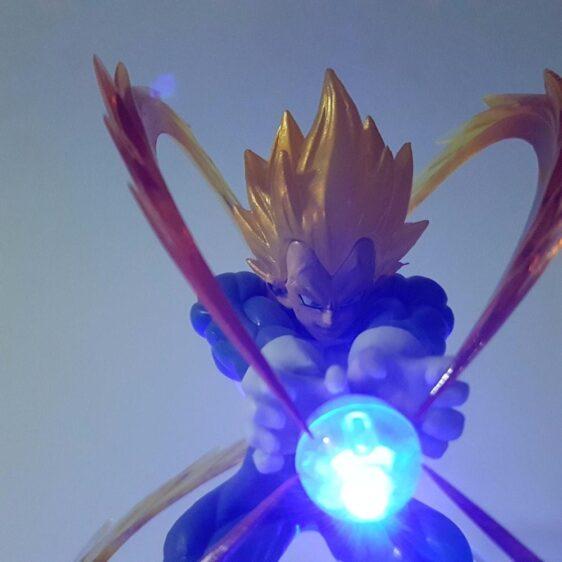 DBZ Vegeta Super Galick Gun Flash Ball DIY 3D LED Light Lamp