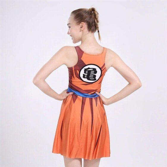 Dragon Ball Z Master Roshi's Kanji Symbol Cosplay Dress