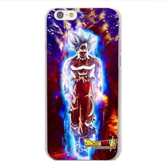 DBZ Goku White Super Saiyan Ultra Instinct iPhone 4 5 6 7 8 Plus X Case
