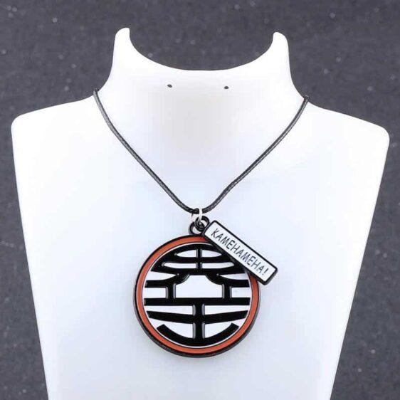 Dragon Ball Z King Kai Kanji Symbol Jewelry Necklace