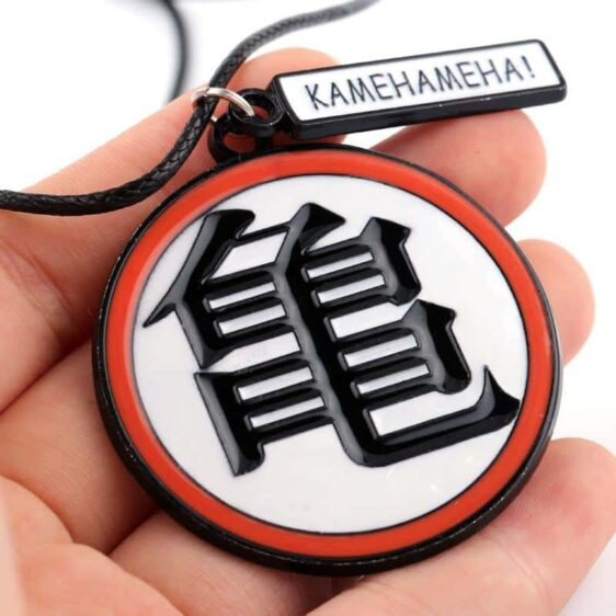 Dragon Ball Z Master Roshi Kanji Training Symbol Necklace