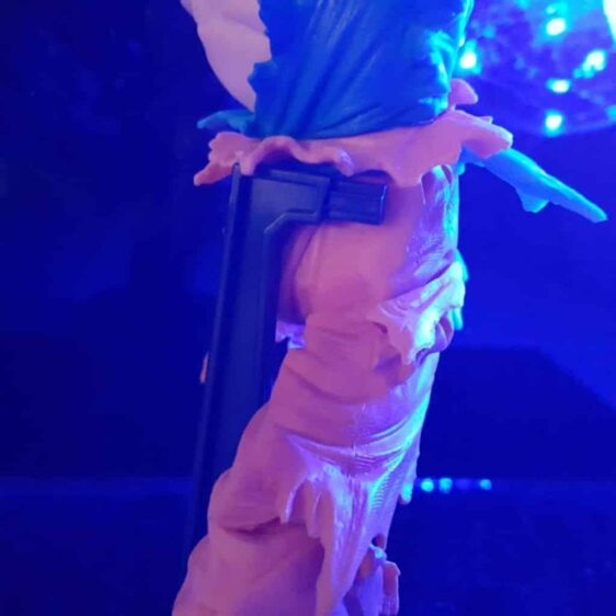 Bruised Super Saiyan Son Goku Kamehameha Wave Blue Flash Ball DIY 3D LED Light Lamp