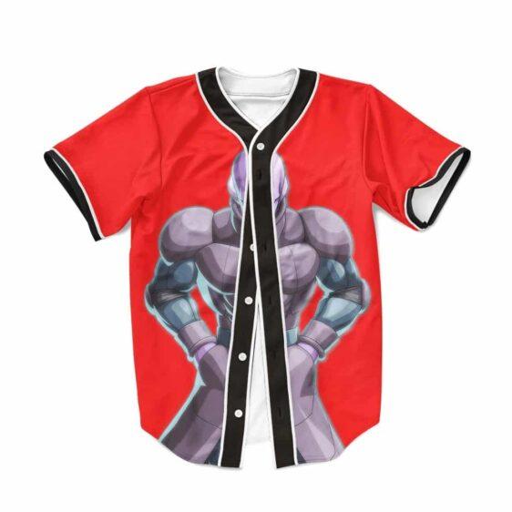 Dragon Ball Super Hit Infallible Assassin Red Baseball Jersey