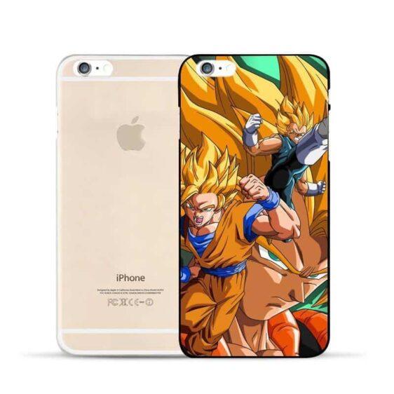 DBZ Goku Vegeta Fusion Gogeta Super Saiyan Warrior Vibrant Hard PC iPhone 5 6 7 s Plus Case