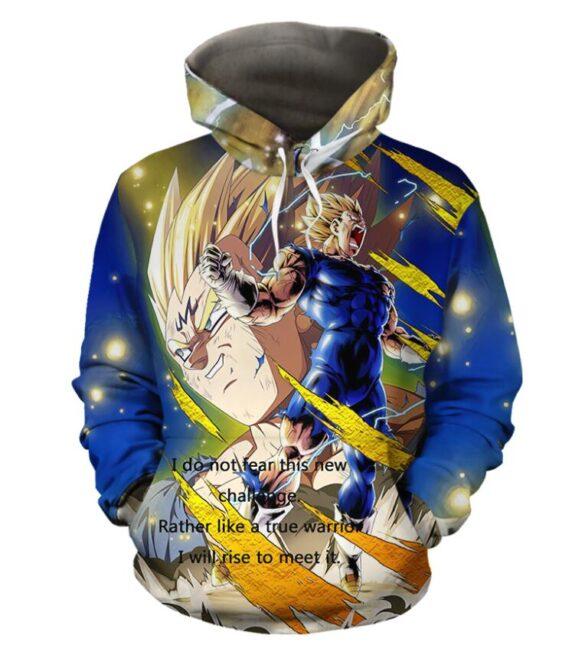 Dragon Ball Z Legendary Majin Vegeta Super Saiyan Hoodie