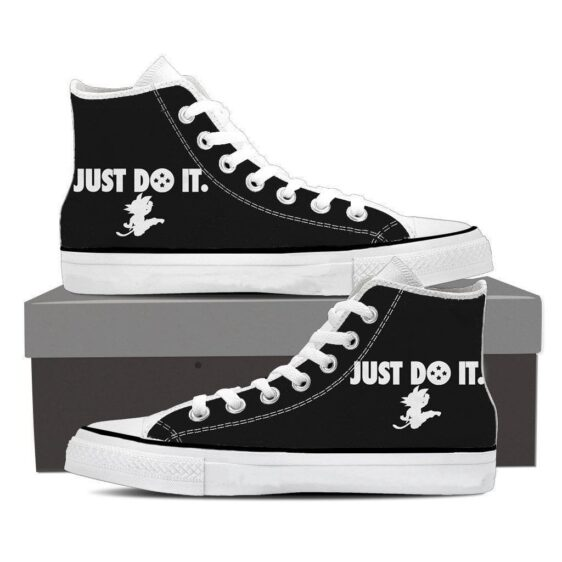 Just Do It Slogan Kid Goku Dragon Ball Sneakers Converse Shoes