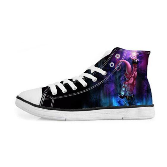 Kid Buu Spirit Ball Skill Destruction Dark Sneakers Converse Shoes