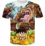 Kid Gohan Inner Power Great Ape Form 3D Graffiti T-shirt - Saiyan Stuff