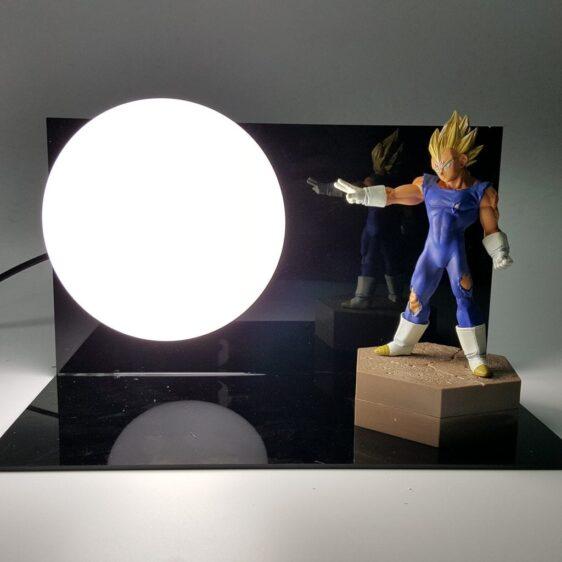 Vegeta Super Saiyan Big Bang Attack White Flash Ball DIY 3D Light Lamp