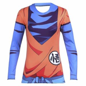 King Kai Training Go Symbol Goku Long Sleeves 3D Women T-Shirt