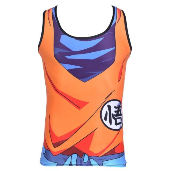 King Kai Training Go Symbol Goku Namek Uniform 3D Tank Top