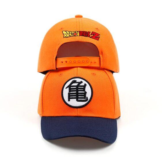 Master Roshi Goku Kame Symbol Orange Black Baseball Cap