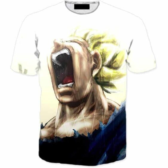 Pissed Off Angry Super Saiyan Vegeta Gets Mad T-Shirt - Saiyan Stuff