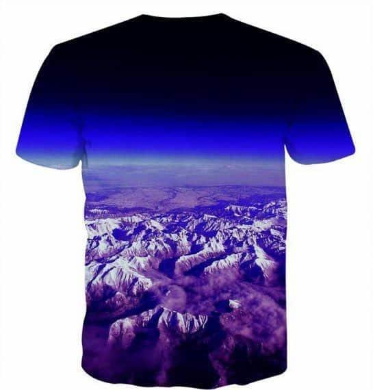 Prince Vegeta All Forms Super Saiyan Transformation 3D T-Shirt - Saiyan Stuff