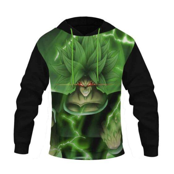 DBZ Broly Legendary Super Saiyan Black Pocket Hoodie