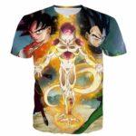 Resurrection 'F' Return of Frieza Goku Vegeta Amazing 3D T-Shirt - Saiyan Stuff