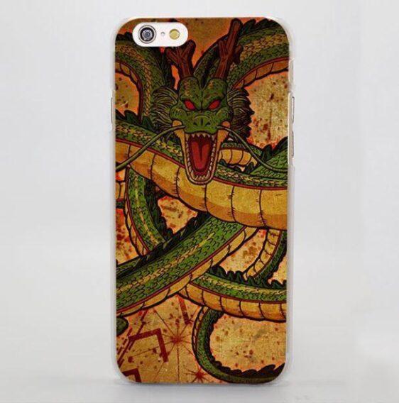 Shenron Face DBZ Dragon Vintage Dope iPhone 5 6 7 Plus Case
