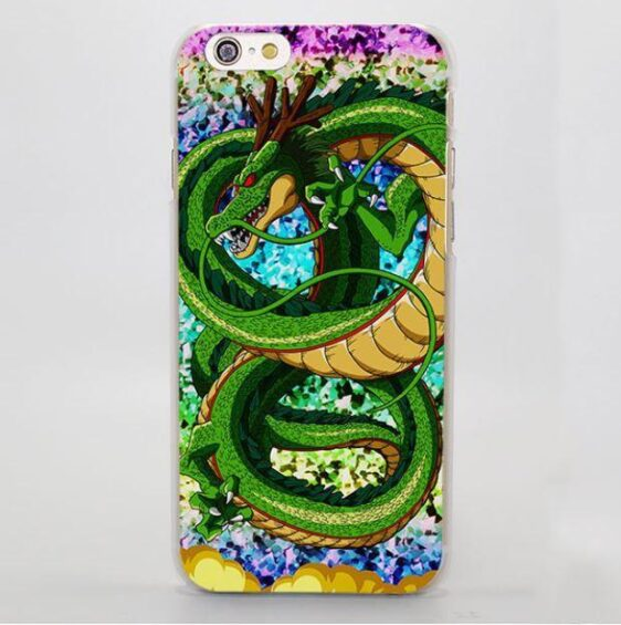 Shenron Mighty Green Dragon Cool DBZ Hard iPhone 4 5 6 7 Plus Case
