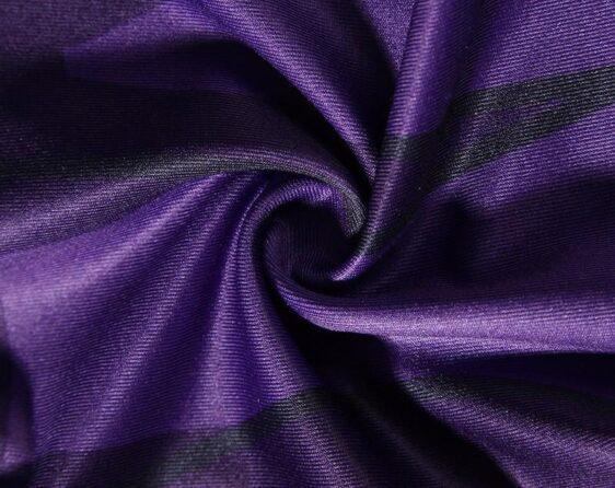 Son Gohan Purple Black Waist Fitness Gym Compression Leggings Tights - Saiyan Stuff - 7