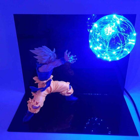 Son Goku Flash Ball Kamehameha DIY 3D LED Lamp
