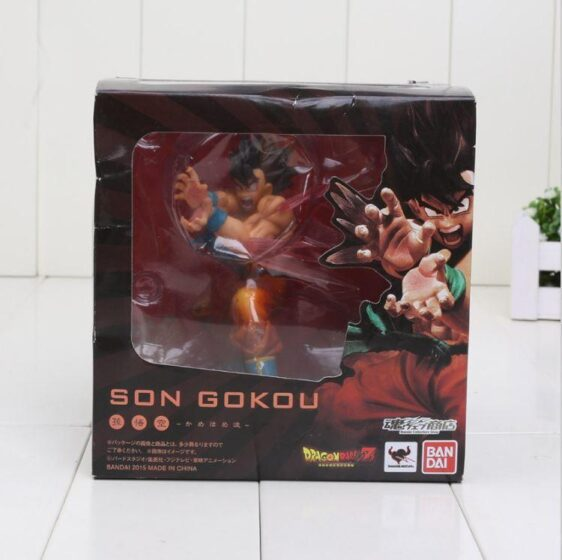 Son Goku Kamehameha Ver. Tamashii Web Ed. Limited DBZ Figure - Saiyan Stuff - 5