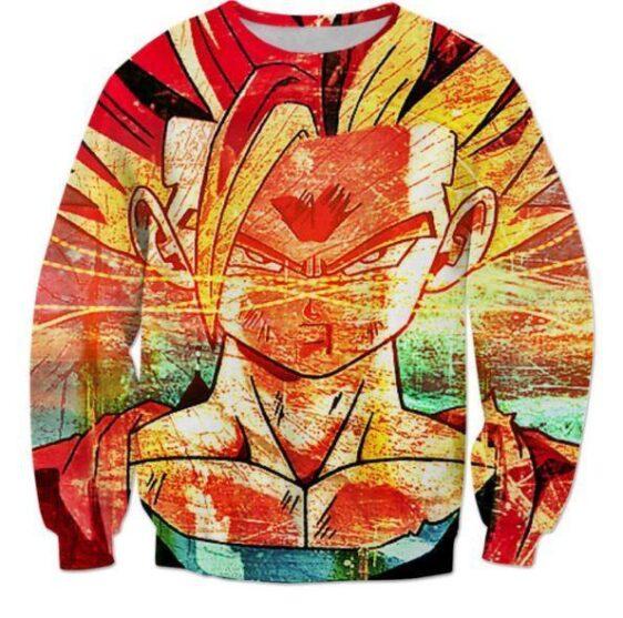 Super Saiyan 2 Gohan SSJ2 Graffiti Style Sweatshirt - Saiyan Stuff