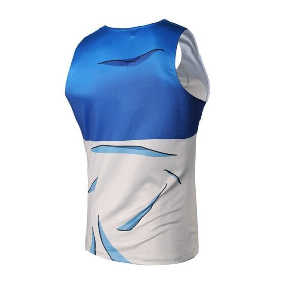 Teen Future Trunks Capsule Corp 3D Gym Fitness Compression Tank Top