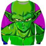 The Mean Green Man King Piccolo Best Dragon Ball Sweatshirt - Saiyan Stuff