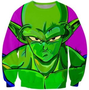 The Mean Green Man King Piccolo Best Dragon Ball Sweatshirt - Saiyan Stuff