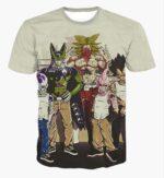Usual Suspects Dragon Ball Z Wanted Vintage T-Shirt - Saiyan Stuff