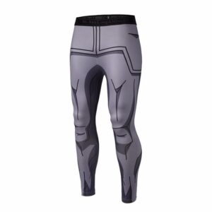 Vegeta Resurrection F Armor Black Waist Fitness Gym Compression Leggings Pants - Saiyan Stuff - 1