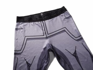 Vegeta Resurrection F Armor Black Waist Fitness Gym Compression Leggings Pants - Saiyan Stuff - 3