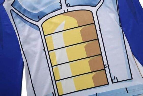 Vegeta Saiyan Battle Armor Compression Hooded Long Sleeves Shirt