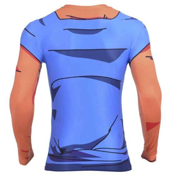 Vegetto Vegito Goku Vegeta Fusion 3D Workout Compression T-Shirt
