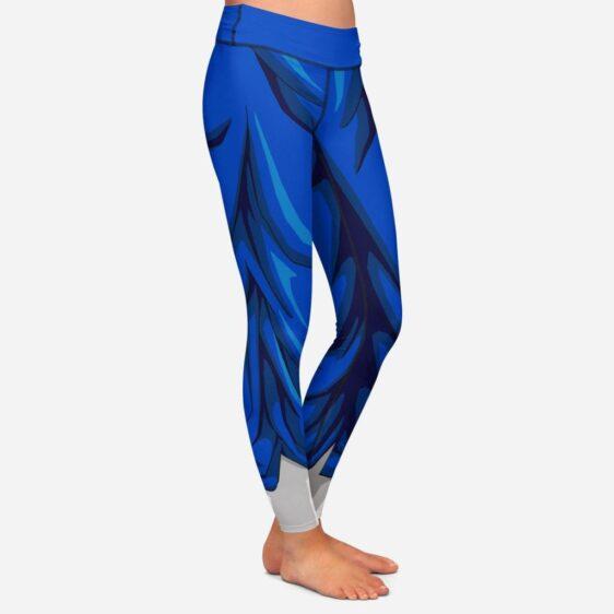 Vegito Dragon Ball Z Women Cosplay Blue Leggings Yoga Pants