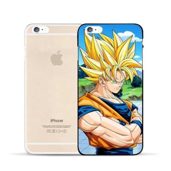 World Martial Arts Tournament Son Goku Hard PC iPhone 5 6 7 s Plus Case