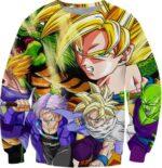 Z-Fighters Goku Trunks Gohan Piccolo Shenron Sweatshirt - Saiyan Stuff