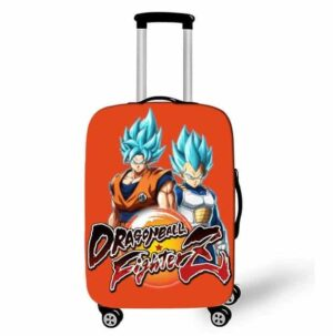 Dragon Ball Z Fighter Goku & Vegeta Blue Form Suitcase Cover