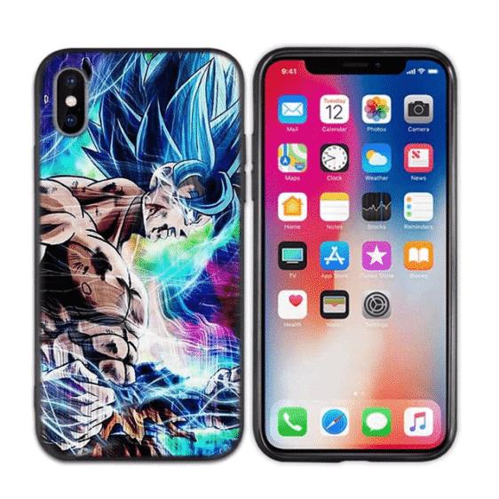 Injured Super Goku Saiyan Blue iPhone 11 (Pro & Pro Max) Case