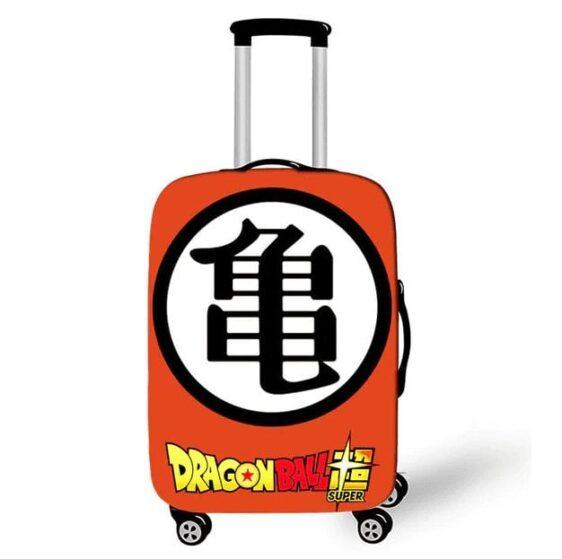 Master Roshi Kanji Dragon Ball Super Suitcase Cover