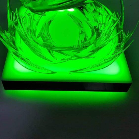 DBZ Legendary Super Saiyan Broly Fantastic Green Aura DIY 3D Light Lamp