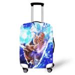 DBZ Son Goku Ultra Instinct Kamehameha Luggage Cover