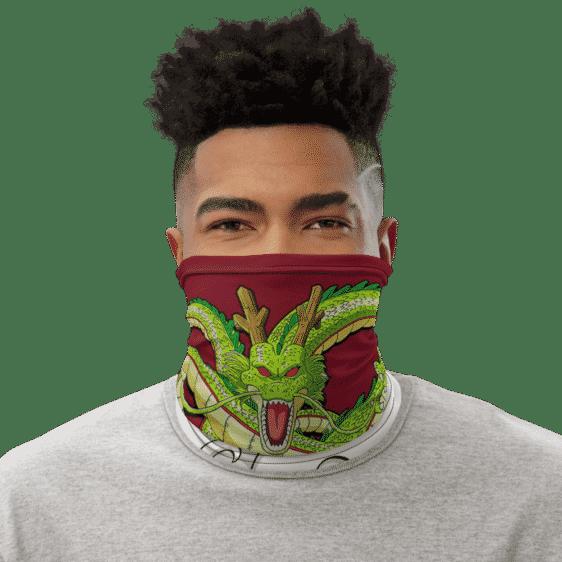 Dragon Ball Z Divine Shenron Red Face Covering Neck Gaiter