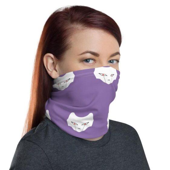 Dragon Ball Z Frieza Purple Face Covering Neck Gaiter