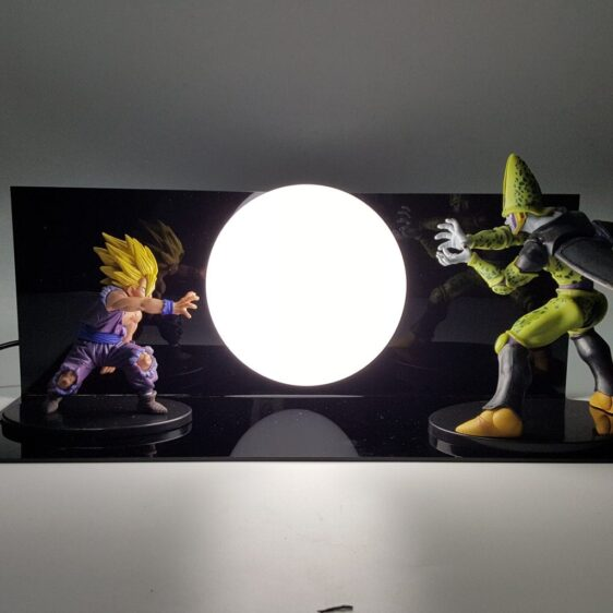 Super Saiyan Gohan Cell Kamehameha Wave DIY 3D Light Lamp