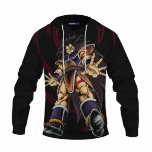 Dragon Ball Z The Well-Known Goku's Brother Raditz Black Hoodie