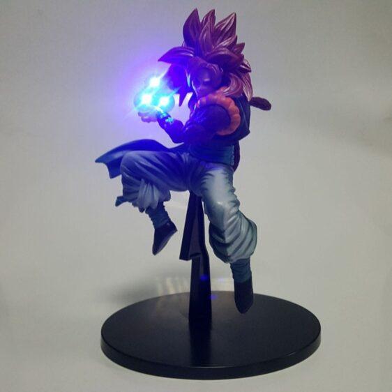 DBZ Gogeta 4 Super Saiyan Kamehameha Wave DIY 3D LED Light Lamp
