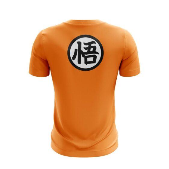 Dragon Ball Z Whis And Goku Logo Amazing Orange T-shirt